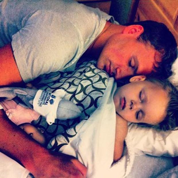 Ryan with his nephew Dalia