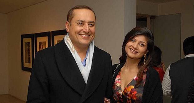 Sabeer Bhatia and His Wife Tania Bhatia