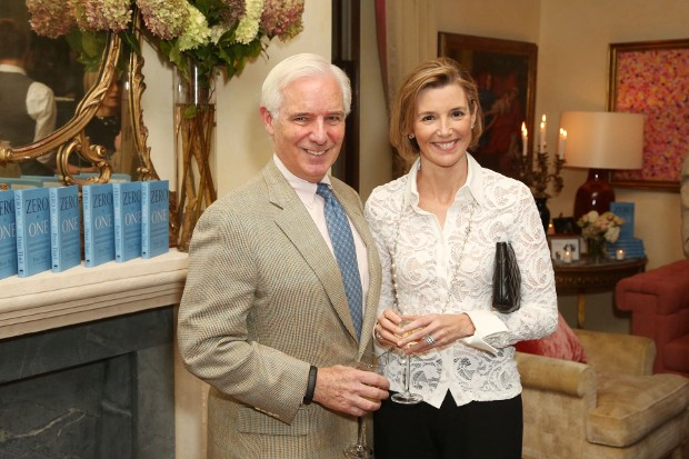 Sallie Krawcheck With Her Husband