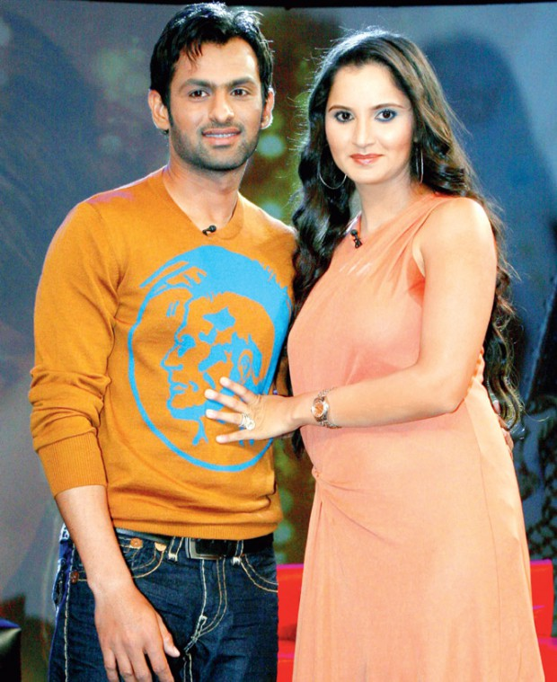 Sania and her husband Shoaib Malik