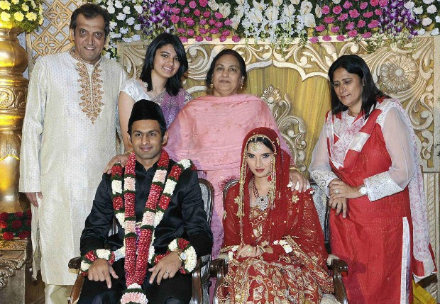 Sania Mirza wedding moments