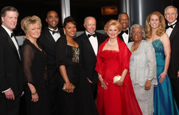 Scott Duncan's Parents with 2008 Life's a Ball Houston Heart Ball Honorees
