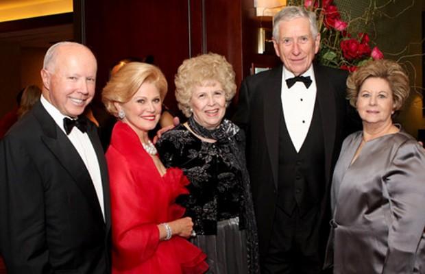 Dan and Jan with Jane Ellis, Drayton McLane and Elizabeth