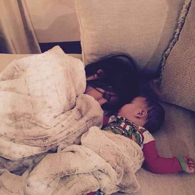 Selena with her sister Gracie