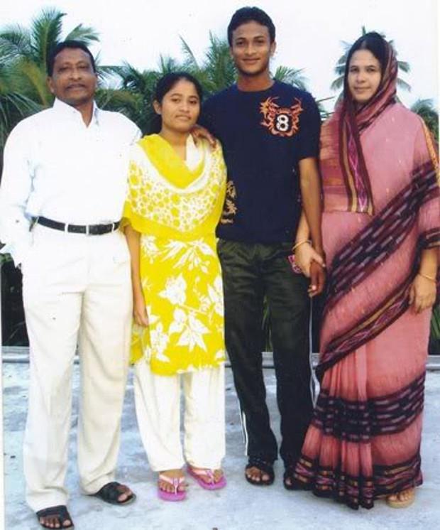 Shakib al Hasan Family