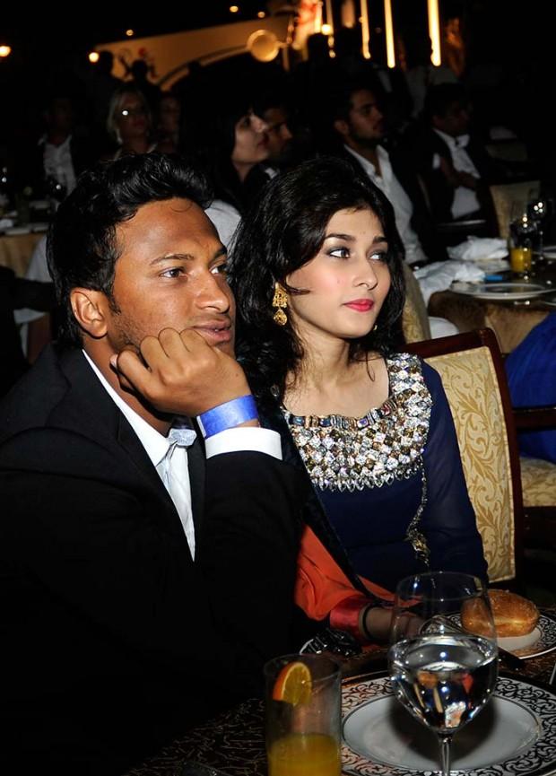 Shakib Al Hasan and His Wife Ummey Ahmed Shishir
