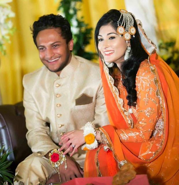 Shakib Al Hasan Wedding Photos