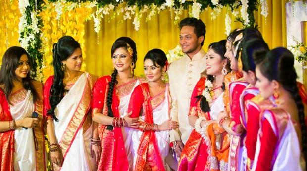 Shakib Al Hasan Wedding Images