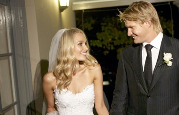 Shane Watson On His Wedding Day