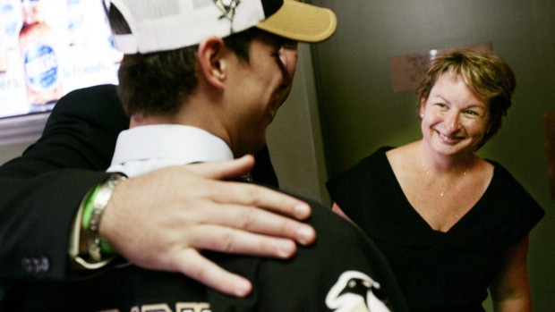 Sid Crosby's mom Trina Forbes-Crosby