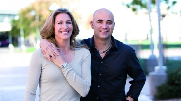 Steffi and Agassi