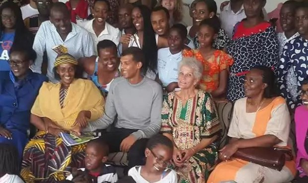 Stromae and his mother