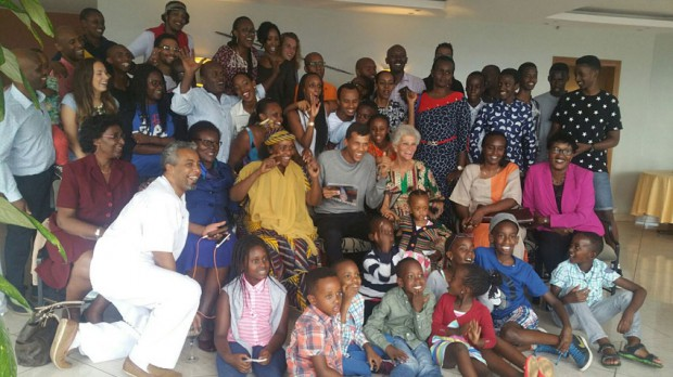 Rwandas Families with Stroame and Stromae's mother