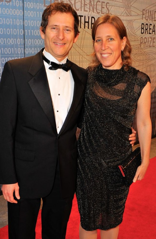 Susan Wojcicki with husband Dennis Troper