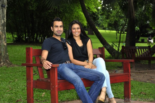 Imran Tahir With His Wife Sumayya Dildar