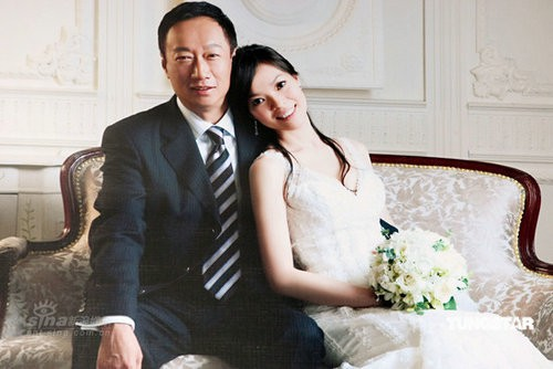 Wedding moments of Terry Gou and Tseng Hsin-ying