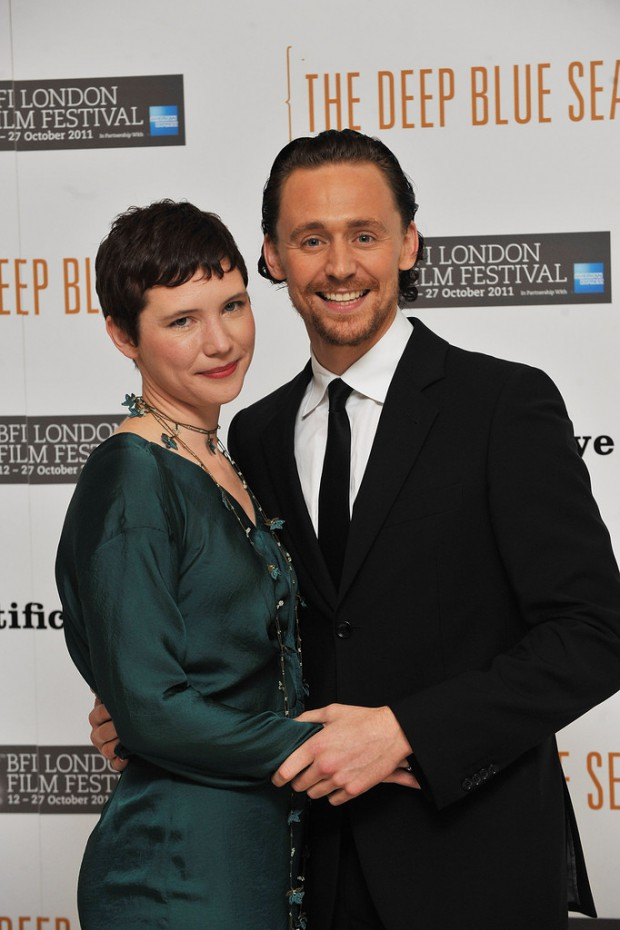 Tom with his sister Sarah Eddleston
