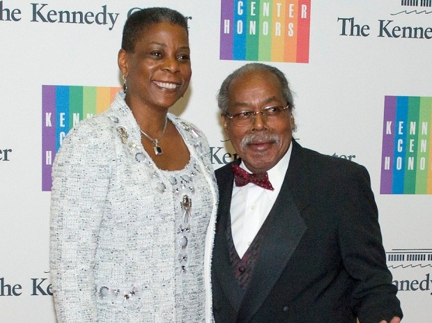 Ursula Burns With her Husband Lloyd Bean