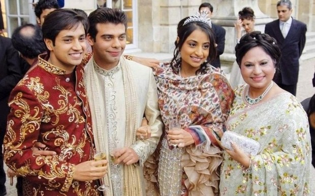 Lakshmi Mittal Family