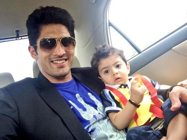 Vijender Singh and his son Arbir Singh
