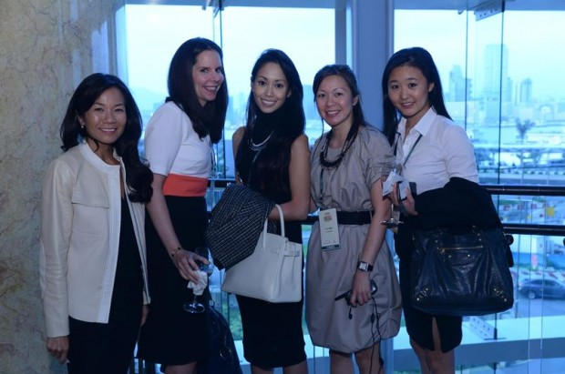 Robert Kuok's Daughter Yen Kwong with Her Friends
