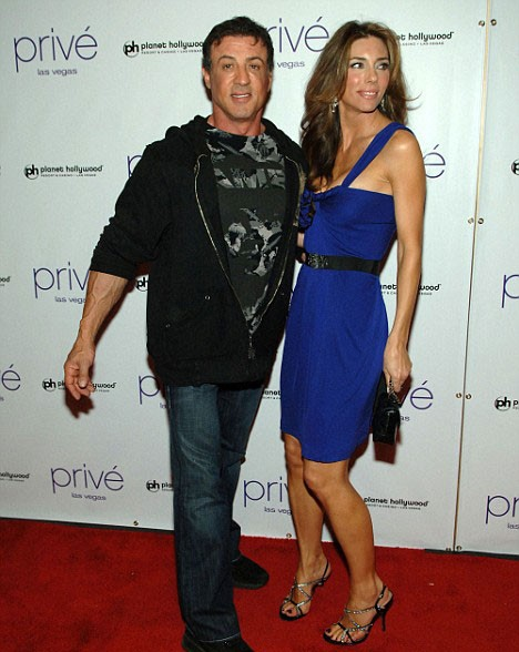 Sylvester Stallone Wife