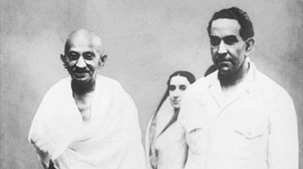 Dr. Khawaja Abdul Hamied and Mahatma Gandhi