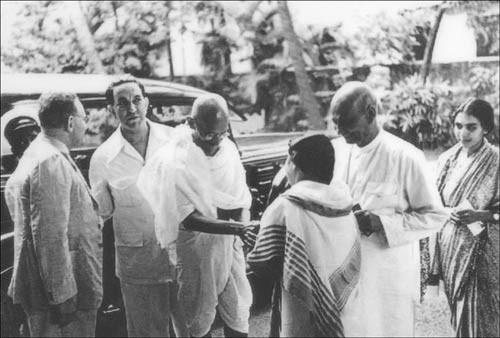 Dr. KA Hamied and Gandhi