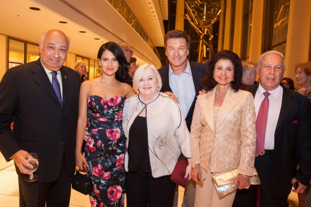 Yusuf with his wife Farida at Zarin Mehta Honor event
