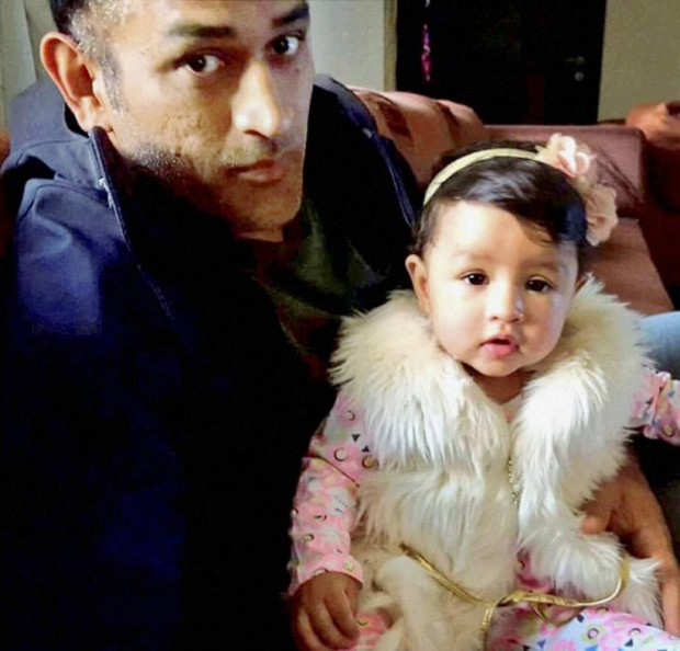 Mr. Cool with his daughter