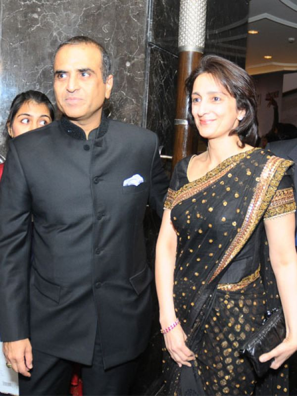 Sunil Mittal with beautiful, Wife Nyna