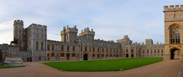 Upper Ward of Windsor Castle