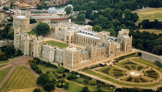 Windsor Castle Top View