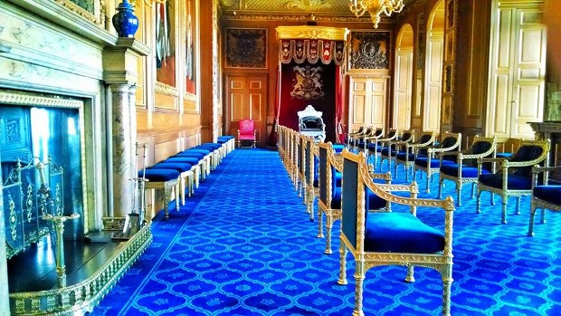 The Garter Throne Room