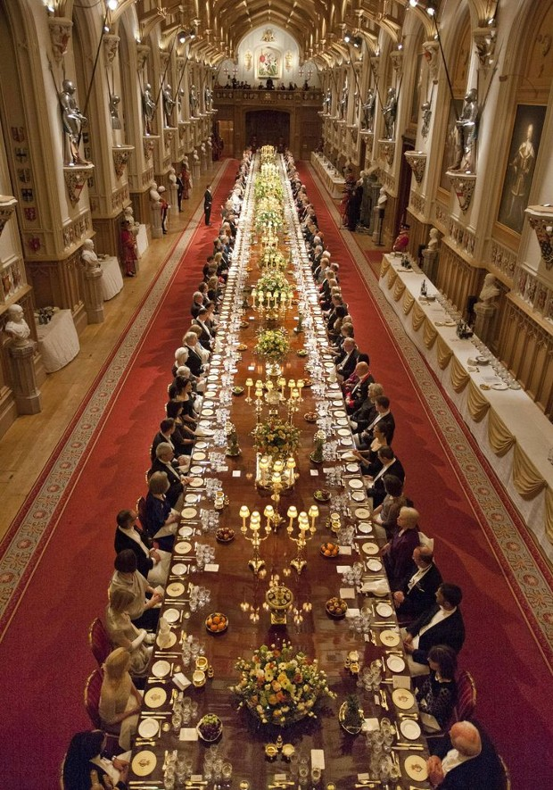 Banquet Hall Windsor Castle