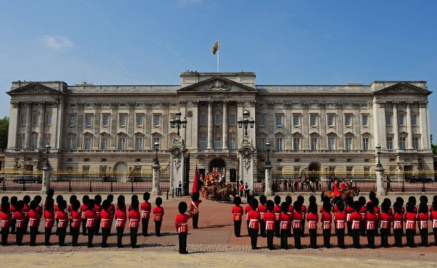 Parade at Buckingham Palace