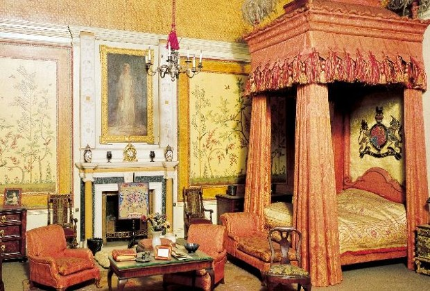 The Kings bedchamber