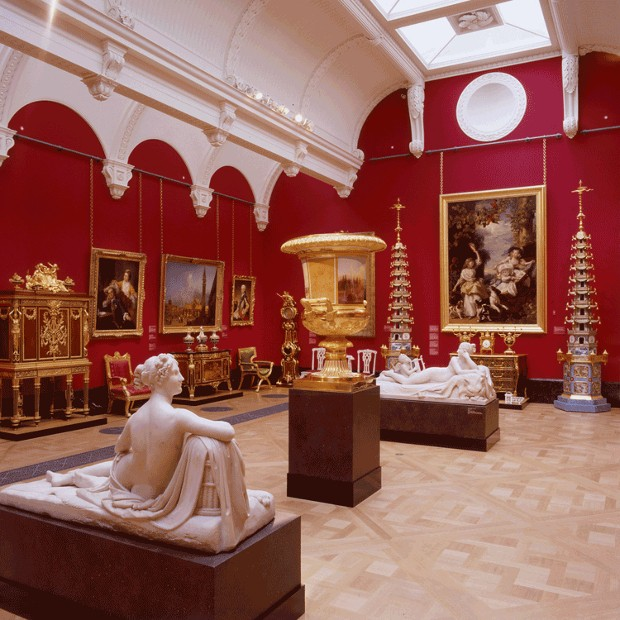 Queens Gallery in Bukingham