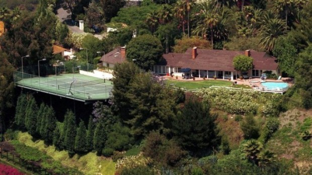 Adam Sandler Beverly Hills House