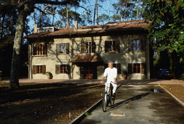 Armani at His House