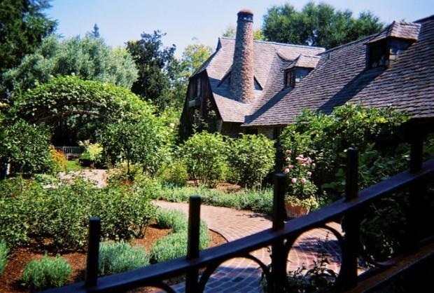 Beautiful Garden in His House