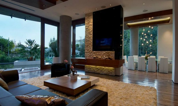 Delicieux Bill Gates Home Interior View