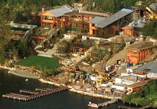 Bill Gates House Overall Look