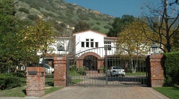 Britney Spears Malibu House