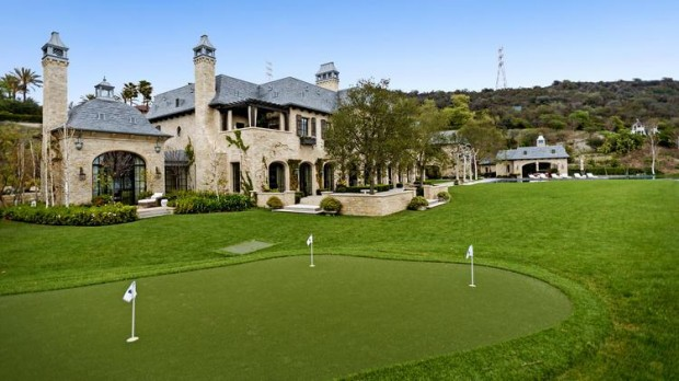 Golf Course in Dr Dre Young Mansion