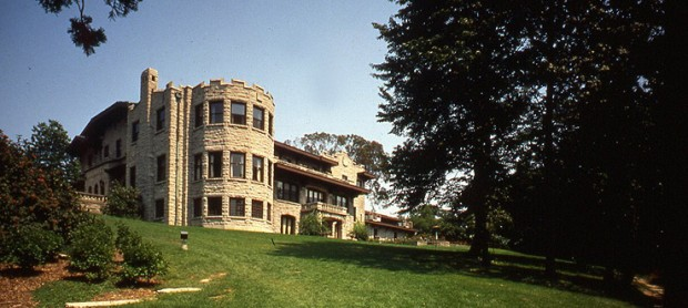 Henry Ford Mansion Outside View