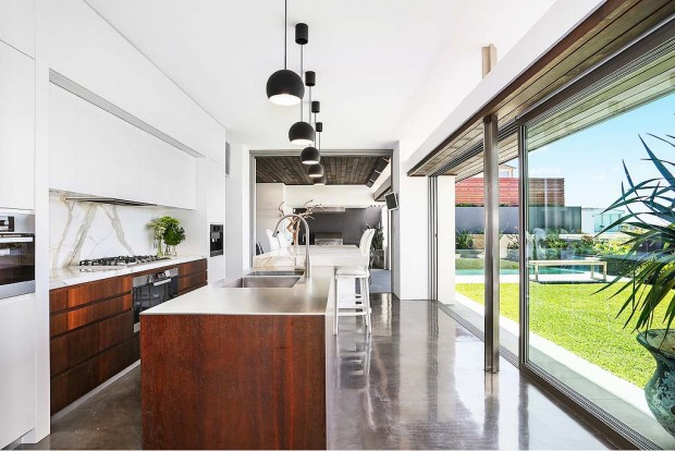 Beautiful Kitchen in Australian Cricketer Shane Watson's House