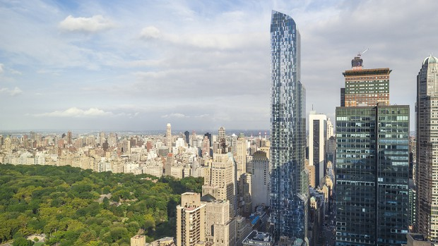 Lawrence Stroll owns an apartment in New York City's tallest building One57