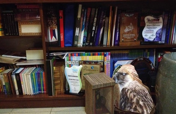 Library in Rody's House