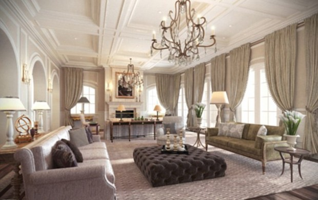 Luxurious Furniture in his Home